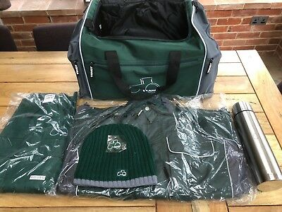 Fendt Limited Edition Driver's Kit - Bag/Coat/Flask/Hat/Overalls/Key Ring