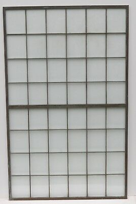 Reclaimed Antique Copper Framed Multi-Lite Window Panels (FOR SALE INDIVIDUALLY)