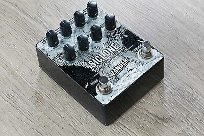 Zander Circuitry SiClone Fuzz Silicon Chaos Initiator Guitar Effects Pedal
