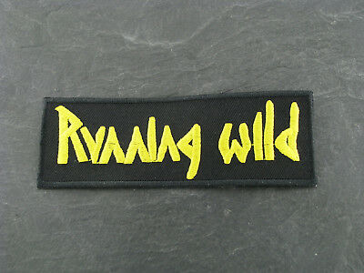 Patches Aufbügler Aufnäher Running Wild Rock'N'Roll Hard Rock Heavy thrash Metal
