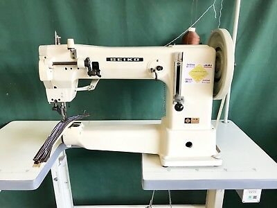 SEIKO CYLINDER ARM Industrial Walking Foot Compound Feed Leather Fascinating Seiko Sewing Machine