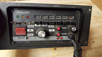 Whelen 295Hfsa6 200 Watt Electronic Siren Amplifier & Control Center