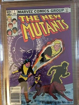 The New Mutants #1 March 1983  CGC 9.2