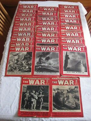 THE (SECOND WORLD) WAR WEEKLY MAGAZINE x TWENTY EIGHT INCLUDING ISSUES ONE & TWO