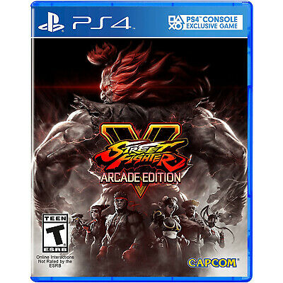 Street Fighter V: Arcade Edition PS4 [Brand New]