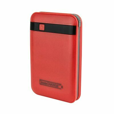 Portable Charger Usb, Instacharge 11000mah Phone Portable Charger Travel, Red