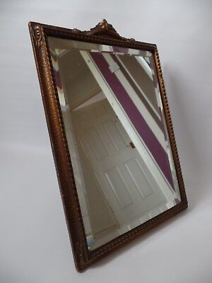 Vintage Small Free Standing Bevelled Edge Mirror