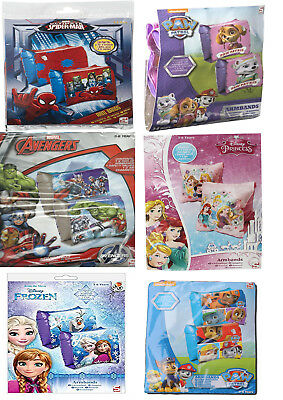 Childrens Disney / Marvel Design Swimming Arm Bands - Age 3 To 6 Years 18 - 30Kg