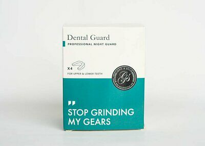 Professional Dental Guard (4 pack) | Stops Teeth Grinding, Clenching & Bruxism