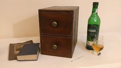 Antique Mahogany Miniature Specimen Chest of Drawers Apprentice Piece