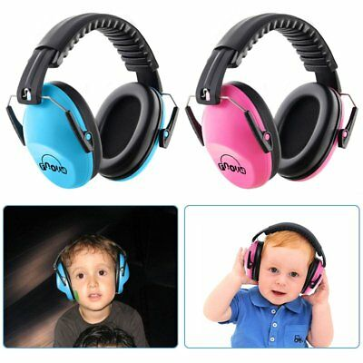 Kids Safety Noise Reduction Ear muffs Adjustable & Soft Headband Ear Protection