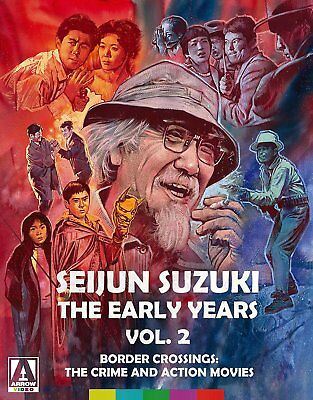 Seijun Suzuki The Early Years Vol. 2 2018 Arrow Video 4 disc Blu-Ray/DVD combo