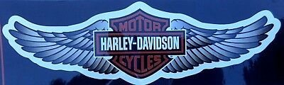 """Harley Davidson Bar And Shield Wings sticker  Licensed  Product 11.7/8"""" x 3.1/2"""""""