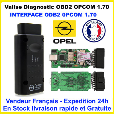 Op Com / Opcom V1.70 Diagnostique Diagnostic Opel Interface Scan Obd Obd2