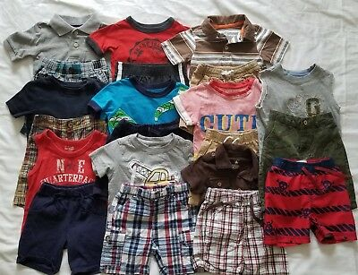 Boys 12-18 months Spring and Summer clothing outfits clothes lot