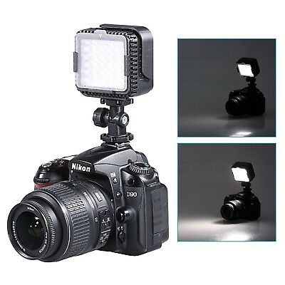 Neewer CN-LUX360 5400K Dimmable LED Video Light Lamp for Nikon D3300 D3200 D3100