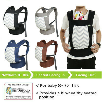 100% Cotton 3-in-1 Ergonomic Baby Newborn Infant Toddler Carrier Hiking Backpack