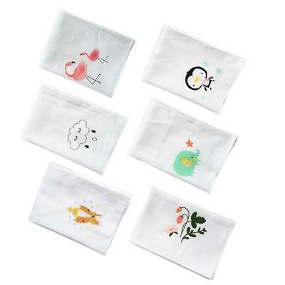 Cartoon Baby Saliva Towel Infant Gauze Handkerchief Hand Feeding Napkin Towel