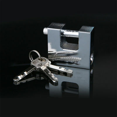Top Security Shipping Container Garage Trailer Padlock Heavy Duty+3 Keys bo