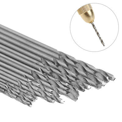 16PCS HSS White Steel Twist Drill Bit Set 0.8-1.5mm For Electric Grinding Drill