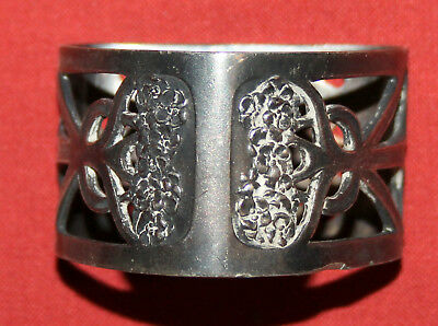 Antique Art Deco German WMF Silver Plated Napkin Ring Holder