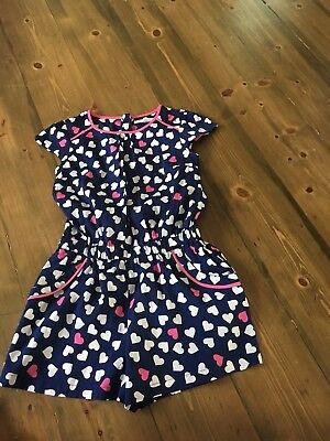 marks and spencer girls summer Playsuit New Without Tags Age 8-9