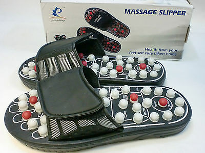 Massage Slippers Sandal Feet Chinese Acupressure Acupuncture Therapy Medical