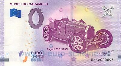 Museu do Caramulo MEAQ 2018-1 Null 0-Euro-Schein Oldtimer Museum Picasso Dali