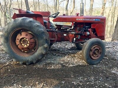 international harvester 444 farm tractor