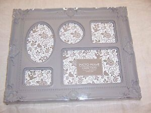 Antique Style (Look) Multi Picture Frame - Assorted Colours