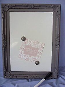 Magnetic Dry Wipe Board A4-Office,School Home -Antique Look -colour may vary