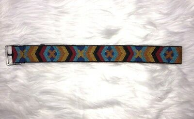 "Kids American Girl Belt Saige Meet Aztec 32"" Tribal"