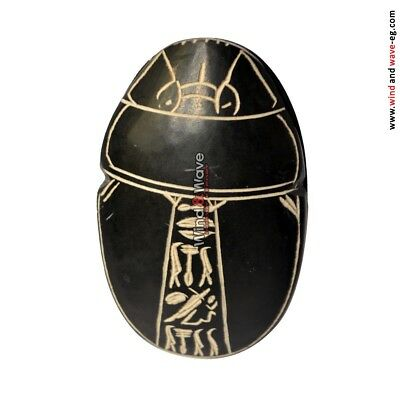 UNIQUE  Ancient Egyptian Scarab beetle Statue
