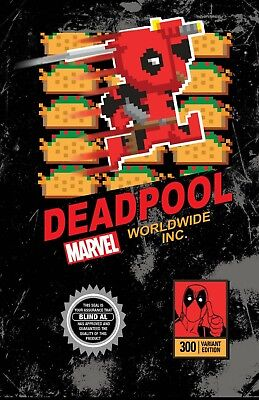 DEADPOOL #300 Video Game Variant Limited Edition PRESALE 5/9