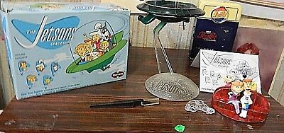 Jetsons Polar Lights Spaceship Kit 3 parts damaged Original box