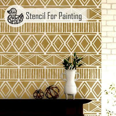 ZULU Furniture Wall Floor Stencil for Painting