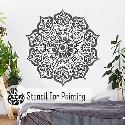 MANALI Furniture Wall Floor Stencil for Paint