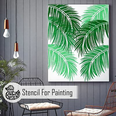 TROPICAL PALM Stencil for Painting