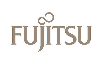FUJITSU Logo Silver Sticker Laptop Desktop 60 mmx 29 mm Approx