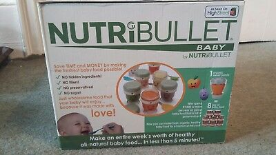 Nutribullet Baby  - brand new and unused