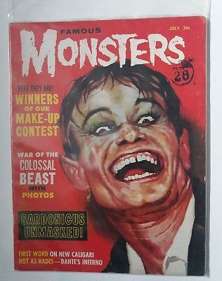Famous Monsters Of Filmland #18