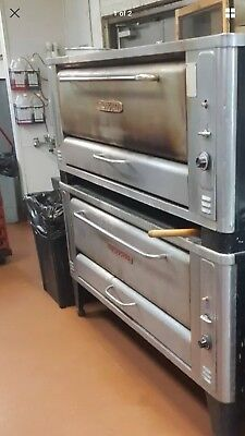blodgett 1060 double deck pizza ovens