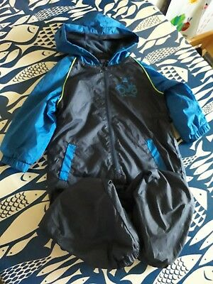 18-24 month boys tractor puddlesuit from next.