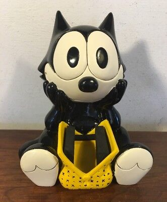 Fossil Watch LTD ED Felix The Cat Statue Figurine Holder No Watch