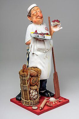 Guillermo Forchino Comic Art -THE BAKER - BÄCKER- Professionals Skulptur FO85539
