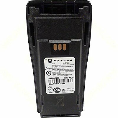 Motorola Original OEM NNTN4497CR Li-ion 7.4, 2250mAh High-Capacity Battery - Com