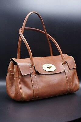 af2ab5b5c5 MULBERRY EAST WEST Bayswater in Oak Natural Leather Excellent ...