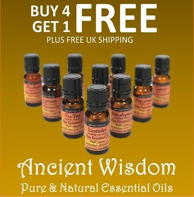 Quality Essential Oils 10ml | Natural and Pure Therapeutic Grade Oils