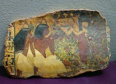 Rare Antique Ancient Egyptian Pottery Fragment