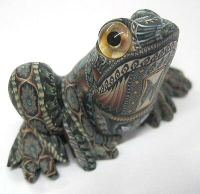 Fabulous Fimo Creations Frog Polymer Clay Magic Of Jon Anderson 2002